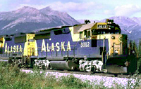 Ride the Alaskan Railroad near Beautiful Denali National Park near Talkeetna, Alaska